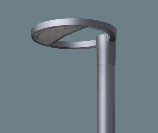 Panasonic NNY22123KLE9 ポール取付型 LED(電球色) モールライト ワイド配光 防雨型 Luminascape ROND(ルミナスケープ ロンド) パネル付型 水銀灯100形1灯器具相当/HID100形1灯器具相当 水銀灯100形