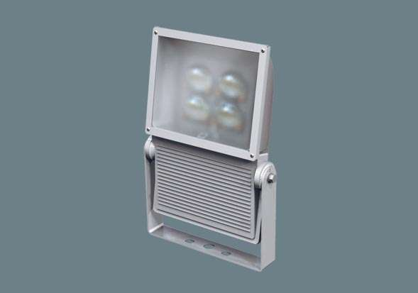 Panasonic NNY24932LE9 ポール取付型 LED(電球色) 投光器 広角タイプ配光 防雨型 パネル付型 水銀灯400形1灯器具相当