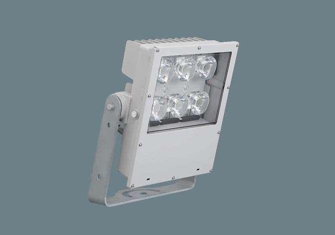 Panasonic NYS10257LF2 LED(昼白色) 投光器 1/10ビーム角122度・広角形(60度~) 防噴流型・耐塵型・タイマー段調光・定格出力初期光束補正型・重耐塩害仕様 パネル付型 水銀灯1000形1灯器具相当