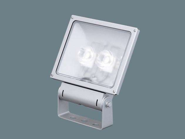 Panasonic XY6816LE9 据置取付型 LED(電球色) 投光器・スポットライト サイン用・中角タイプ配光 防雨型・電源別置型 パネル付型 水銀灯100形1灯器具相当/CDM-TD70形1灯器具相当