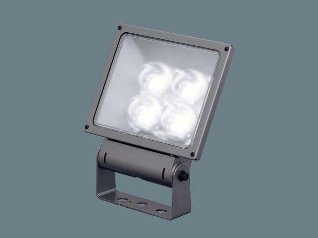 Panasonic XY6851LE9 据置取付型 LED(昼白色) 投光器・スポットライト サイン用・広角タイプ配光 防雨型・電源別置型 パネル付型 水銀灯400形1灯器具相当 水銀灯400形
