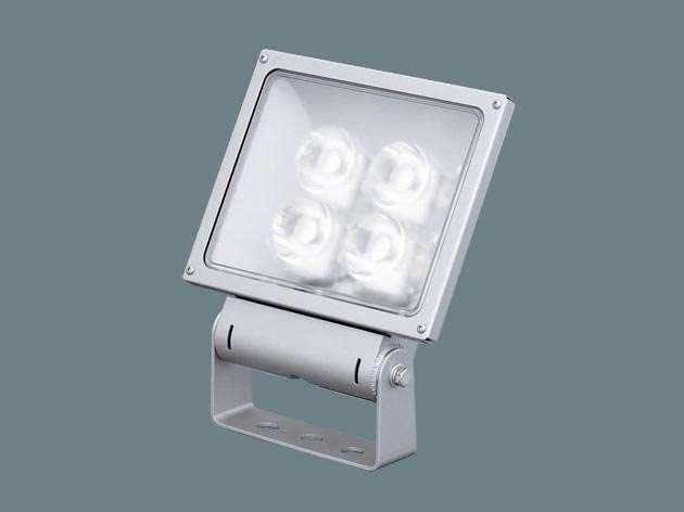 Panasonic XY6836LE9 据置取付型 LED(電球色) 投光器・スポットライト サイン用・中角タイプ配光 防雨型・電源別置型 パネル付型 水銀灯250形1灯器具相当/CDM-TD150形1灯器具相当