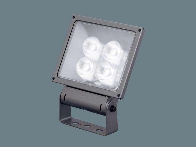 Panasonic XY6855LE9 据置取付型 LED(昼白色) 投光器・スポットライト サイン用・中角タイプ配光 防雨型・電源別置型 パネル付型 水銀灯400形1灯器具相当 水銀灯400形