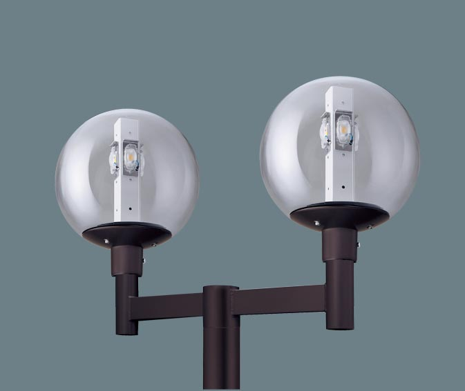 【人気商品!】 Panasonic パナソニック XY7780TLE9 アーム取付型 LED(昼白色) モールライト 球形タイプ・ガラス(透明)グローブ 防雨型(灯具のみ) HID300形2灯器具相当, sawa a la mode サワアラモード 6b37c7f7