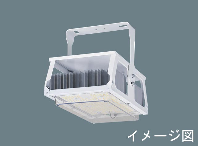 ◆受注品◆パナソニック Panasonic XYM2033LE2 天井直付型 LED(昼白色) 高天井用照明器具 拡散タイプ 電源別置型 パネル付型 水銀灯700形1灯器具相当