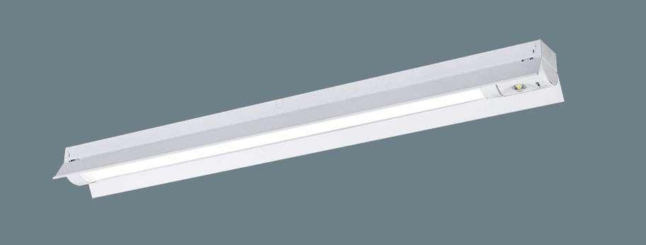 【V】Panasonic パナソニック XWG432KGNLE9 天井直付型 40形 一体型LEDベースライト(非常用) 30分間タイプ 防湿型・防雨型・自己点検スイッチ付・リモコン自己点検機能付・非常時LED一般出力型 反射笠付型