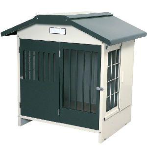 スチール切妻犬舎 SLH-10 グレー ペットと暮らす 犬小屋 ハウス 飼育 ペットグッズ 【アイリスオーヤマ】【ペット用品/犬】