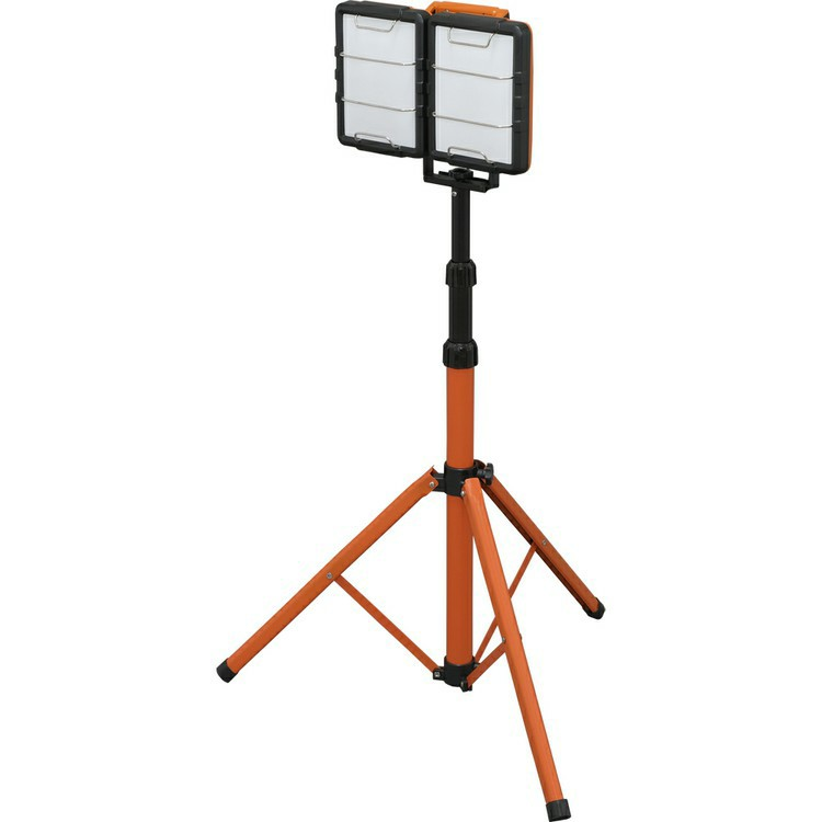 LEDスタンドライト 10000lm LWT-10000S-AJ 送料無料 スタンドライト スタンドタイプ 投光器 作業灯 長寿命 省電力 作業用品 LED投光器 屋内 スタンド式 2灯 置き型 軽量 アイリスオーヤマ 工事 キャンプ アウトドア ナイター