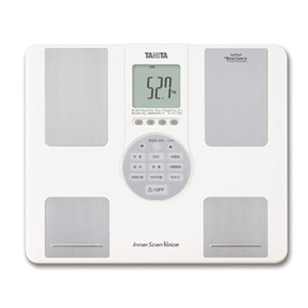 【送料無料】TANITA(タニタ) インナースキャンVoice BC-202 ホワイト【TC】【体重計 ヘルスメーター 体組成計 体脂肪率 内臓脂肪レベル ダイエット インナースキャン】
