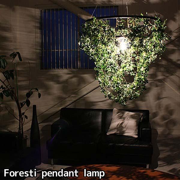 【送料無料】Foresti Grande pendant lamp-フォレスティ ペンダントランプ-ペンダントランプ ペンダントライト おしゃれ オシャレ 照明 ライト 自然モチーフ カフェ リビング ダイニング【TC】【DIC】【お取寄せ品】