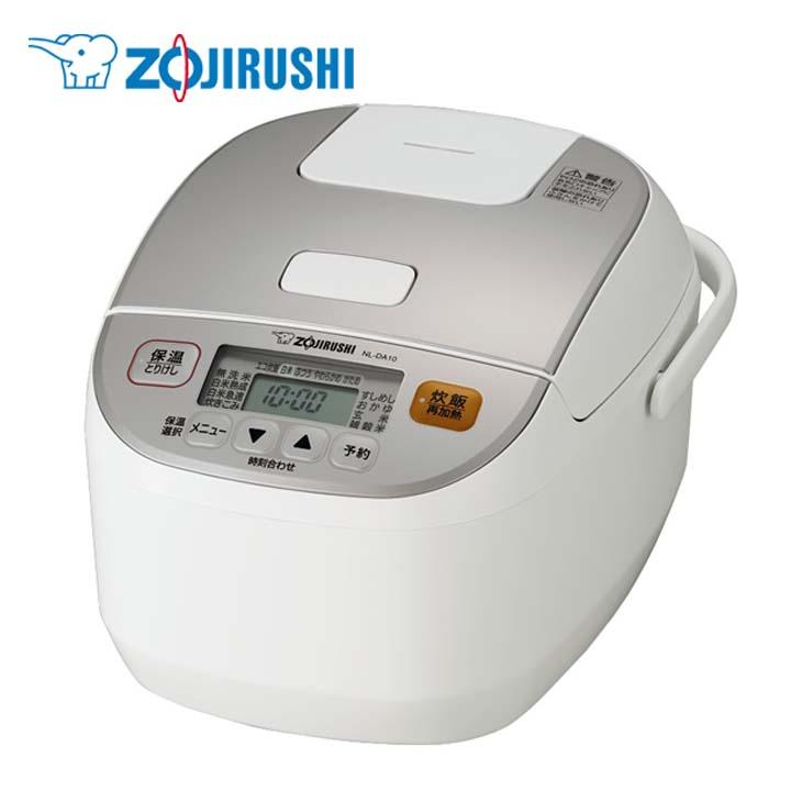 象印マイコン炊飯ジャー ホワイト NL-DA10送料無料 炊飯器 炊飯ジャー ご飯 ごはん ZOJIRUSHI 【D】