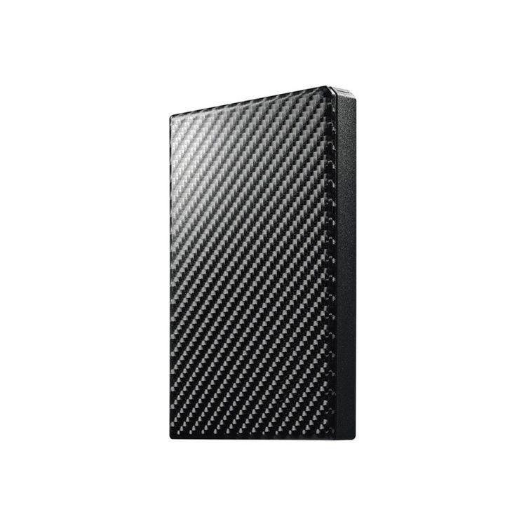 USB3.1 Gen1 ポータブルHDD カーボンブラック 500GB HDPT-UTS500K送料無料 PC機器 I・O・DATA パソコン アイ・オー・データ機器 【D】