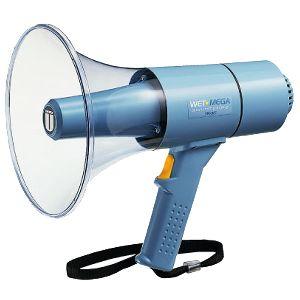 【送料無料】ユニペックス 〔UNI-PEX〕 15W防滴メガホン TR-315【KM】【TC】(雨でも使用可能)【お取寄せ品】