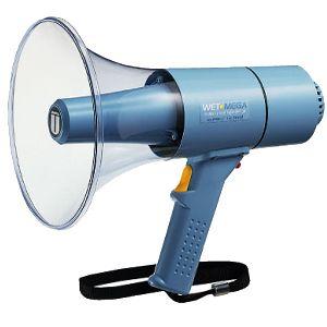 【送料無料】ユニペックス 〔UNI-PEX〕 15W防滴メガホン TR-315W【KM】【TC】(ホイッスル付き)【お取寄せ品】