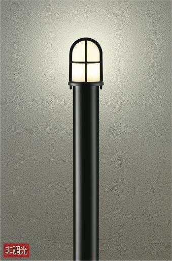 大光電機 DWP-37712 屋外灯 ポールライト 自動点灯無し 畳数設定無し LED≪即日発送対応可能 在庫確認必要≫【送料無料】【smtb-TK】【setsuden_led】