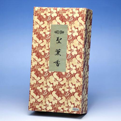 焼香 ◆御焼香 五種香 聖薫香 500g 紙箱入◆玉初堂 GYOKUSHODO 日本製【焼香】