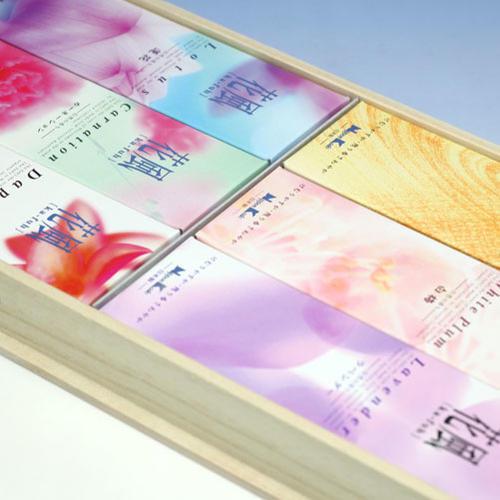 향 선물 ◆ 꽃 바람 선물 동상 六種 법 ◆ 일본 Nippon 香堂 Kodo 일본 업체