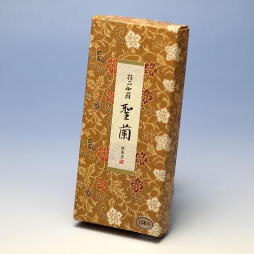 線香 ◆高級線香シリーズ 手文庫 特品伽羅 聖蘭 紙箱 短寸15本◆【お線香】誠寿堂 Seijudo 日本製