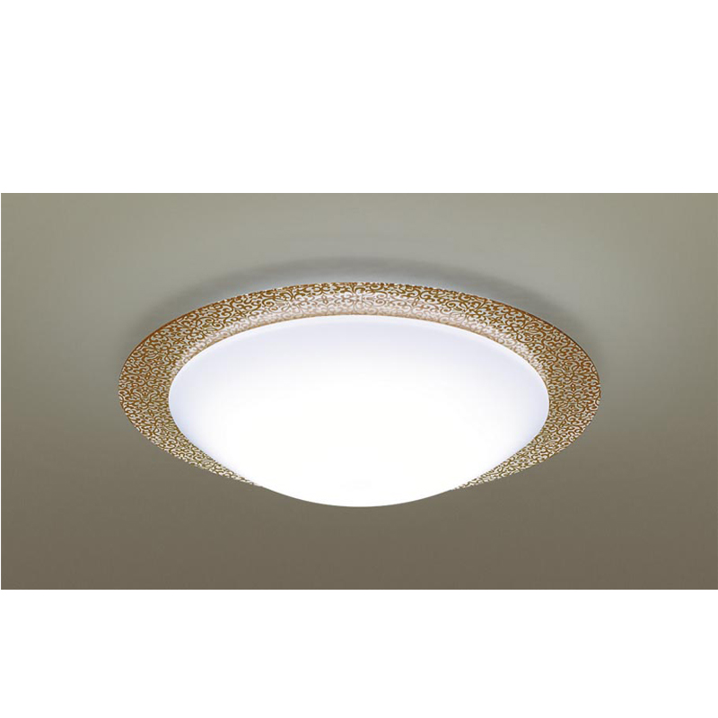 パナソニック天井直付型 LED(昼光色~電球色) シーリングライト リモコン調光・リモコン調色・カチットF ~10畳LGBZ2535