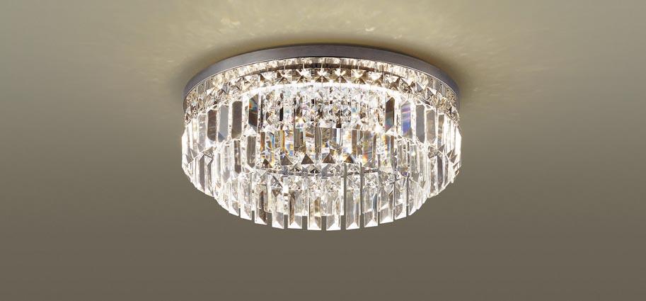 【送料別】LEDシーリングライト LGBZ0120 6畳用 リモコン付き 3699lm 37W シャンデリング