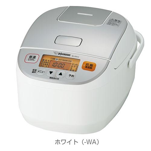 象印 ZOJIRUSHI 極め炊き ハイパワー マイコン炊飯ジャー 炊飯器 NL-DS10-WA(ホワイト)