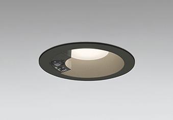 OD261846 人感センサ付軒下ダウンライト (φ125・白熱灯100Wクラス) LED(電球色) オーデリック(ODX) 照明器具