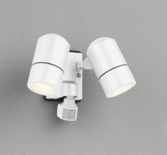 OG254557LD 人感センサ付アウトドアスポット (白熱灯50W2灯クラス) LED(電球色) オーデリック(ODX) 照明器具