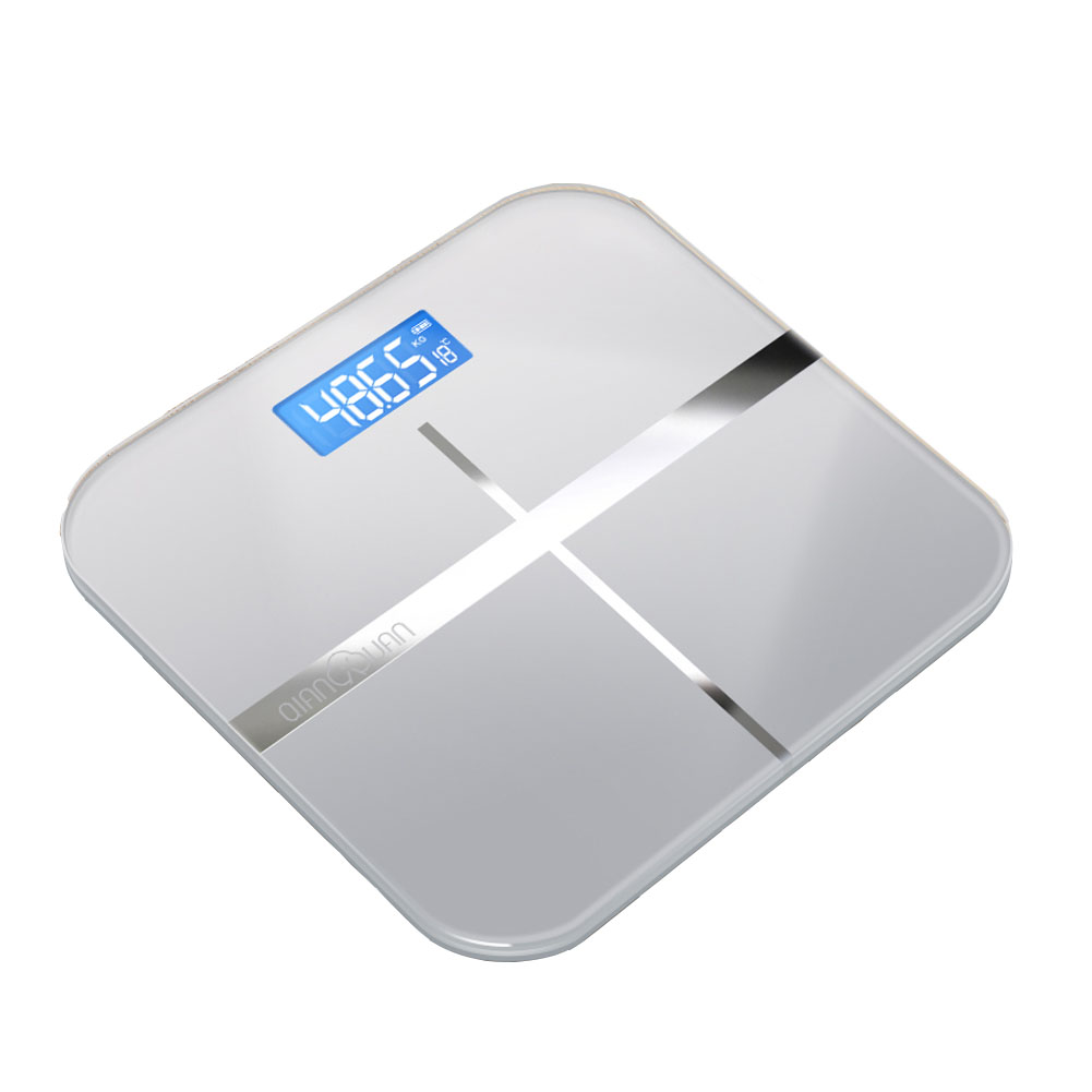 Scale digital scale USB charge-type battery-type electronic scales digital 180 kg measurement body scale diet tempered glass electronic scale