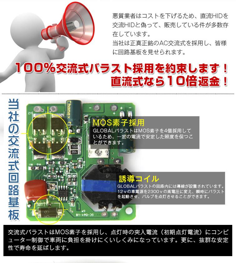Wagon R スティングレー MH23S/ rush J200E, 210E fog light / palette MK21S haze 35w HID kit H8/H11 thin ballast relayless xenon lamp light 6000K perfection waterproofing specifications P20Feb16