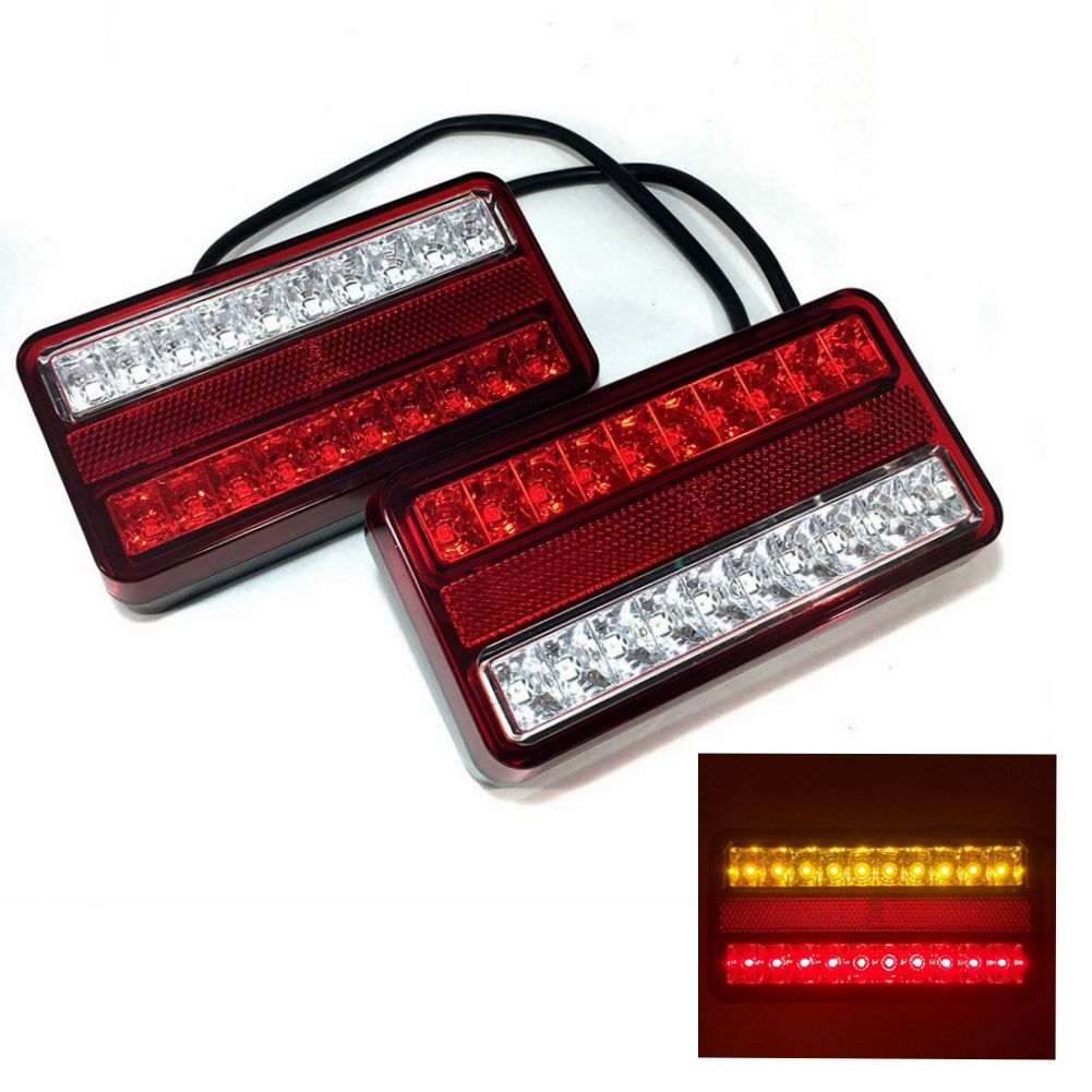 signal item automobiles light lights van car from lamp indicator mark tail certification double led color turn in e trailer assembly