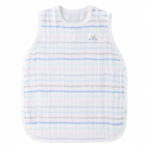 【公式ショップ 赤ちゃんの城】スリーパー 五重ガーゼ 綿100% 0~2才 ねずみ年 干支 日本製