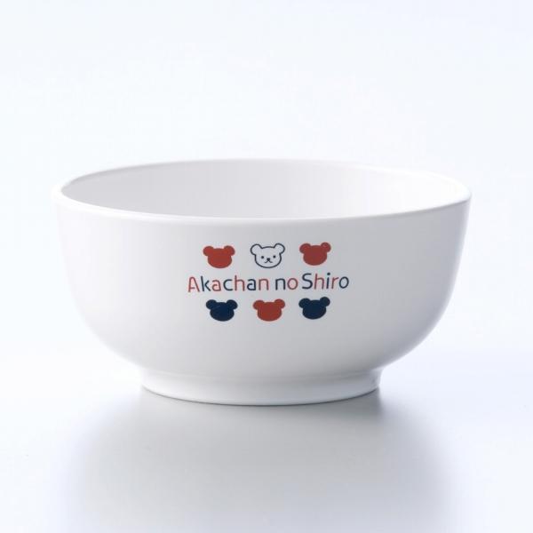 日本製 公式通販 茶碗 ベビー用食器 お茶碗 ごはん茶碗 赤ちゃんの城 トリコロール 新作通販 離乳食 くま 単品