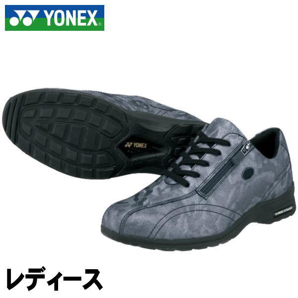 3.5E【YONEX】ヨネックス ウォーキングシューズ <パワークッション> LC30(レディース)チャコール(075)