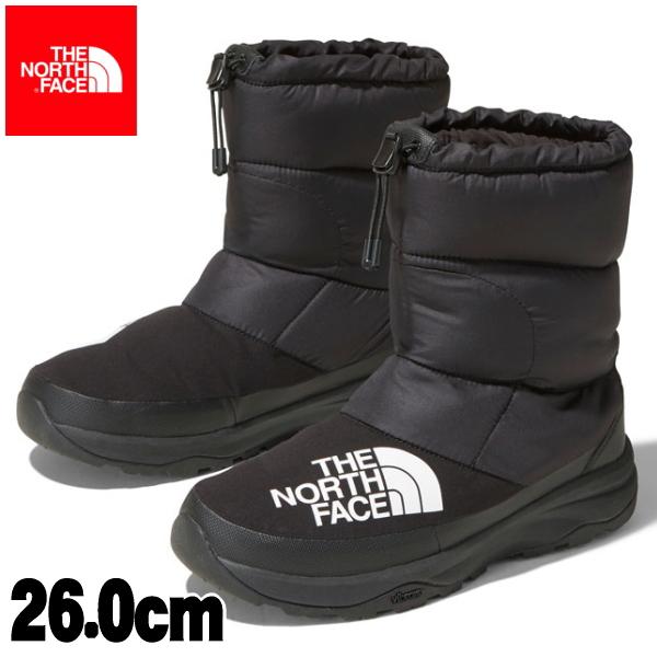 2019秋冬【ユニセックス26.0cm(8インチ)】【THE NORTH FACE】<Nuptse Down Bootie>ヌプシダウンブーティー ノースフェイス(KK/TNFブラック×ブラック)ブーツ