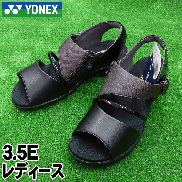 【YONEX】ヨネックス レディースサンダル<パワークッションプラス>3.5E【送料無料】