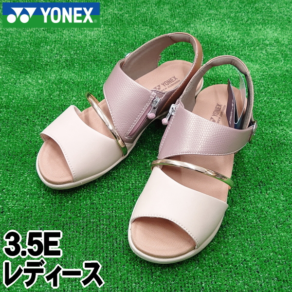 【YONEX】ヨネックス レディースサンダル<パワークッションプラス>3.5E【送料無料】ローズピンク