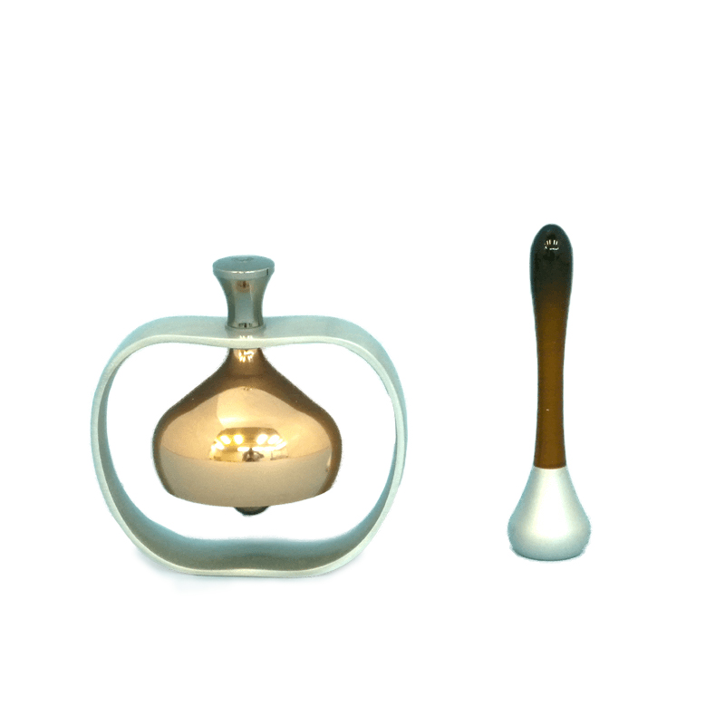 創価学会 仏具 りんごリン 鈴 りん りん棒付き りんごの形 デザイン 仏具 仏壇