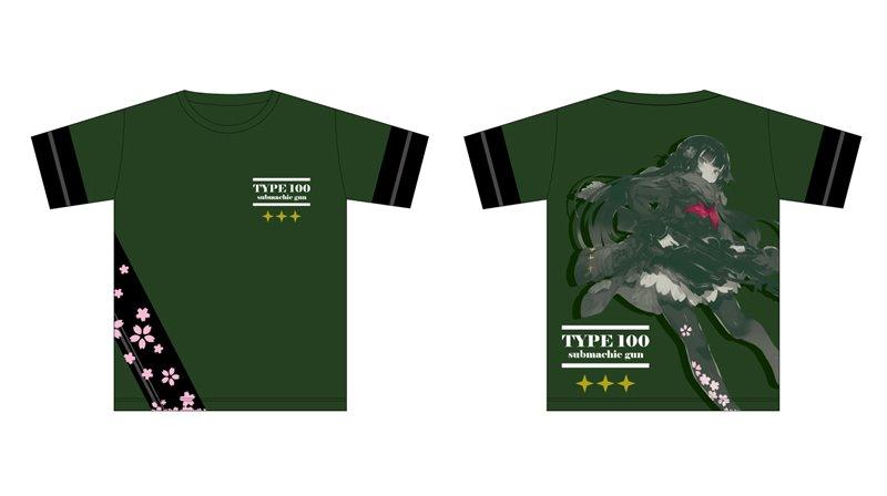 ドールズフロントライン フルカラーTシャツ1 一〇〇式 サイズXL / イザナギ 発売日:2019年02月頃