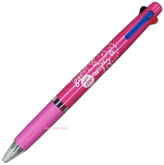 Snoopy /SNOOPY three color ballpoint pen D 510SQD ★ jet stream 0.5 mm core red blue black BP/PEANUTS ctswa ★