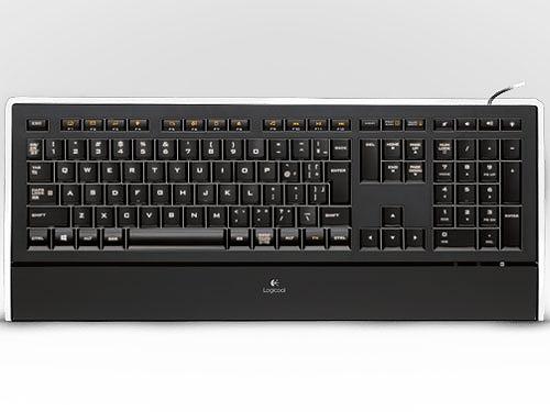 【送料無料】【新品】【お取寄せ商品】 ロジクール Logicool キーボード 有線キーボード テンキー付 超薄型 バックライトキー Illuminated Keyboard K740