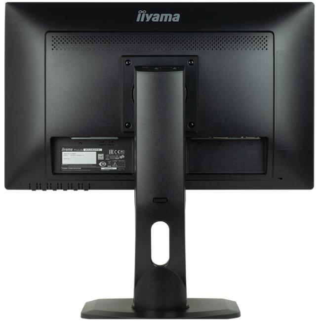 【新品】 iiyama 22インチ 液晶モニター フルHD ワイド液晶ディスプレイ ノングレア(非光沢) 130mm昇降/チルト/回転/スイーベル可能スタンドモデル HDMI入力搭載 HDCP対応 22型 21.5型 21.5インチ マーベルブラック B2282HS-B1