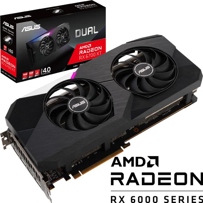 限定版 【新品】 ASUS ASUS AMD DUAL-RX6700XT-12G 12GB GDDR6 AMD Radeon RX 搭載 6700XT 搭載 グラフィックカード グラボ デュアルファンクーラー, マキシステム:e0ca8f80 --- fotostrba.sk