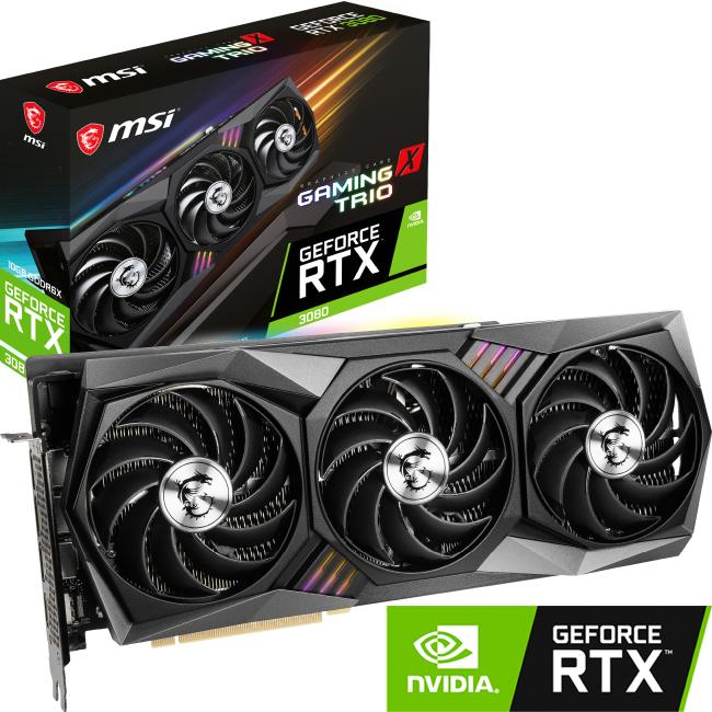 【スーパーセール】 【新品 RTX GeForce】 MSI Frozr GeForce RTX 3080 GAMING X TRIO 10G 10GB GDDR6X NVIDIA GeForce RTX 3080 搭載 トリプルファンクーラー Tri Frozr 2 採用 グラフィックカード グラフィックボード グラボ, 健康と快適生活:09d03498 --- evirs.sk