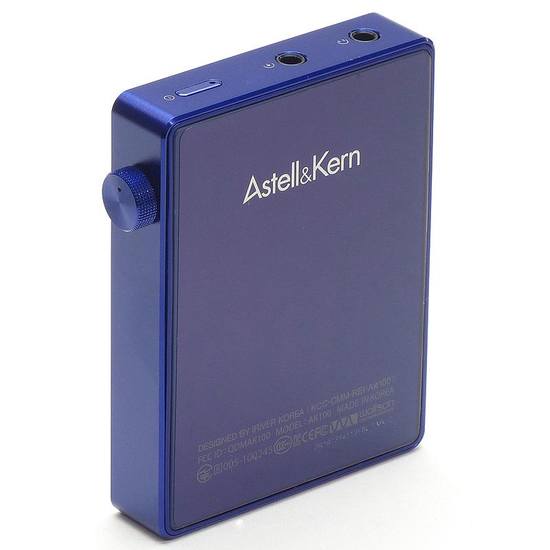 Astell&Kern AK100MKII LTD蓝宝石蓝色