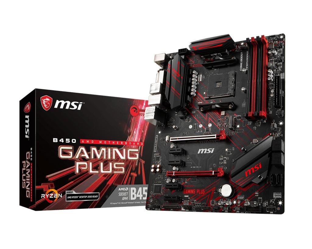MSI エムエスアイ マザーボード B450 GAMING PLUS [AMD AM4 Ryzen B450]