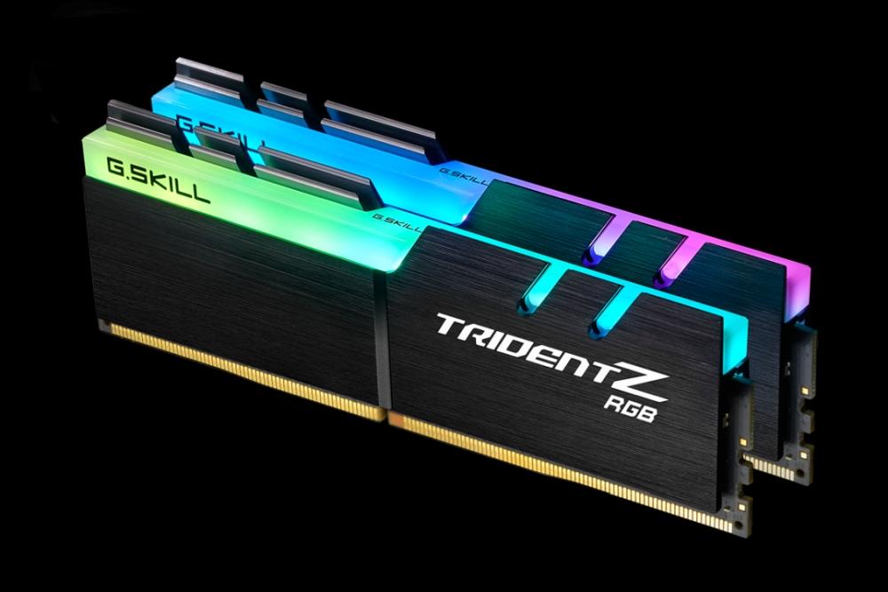 x2枚組 8GB メモリ F4-3600C18D-16GTZRX Z 3600 G.SKILL ゲーミング (for DDR4 AMD) / 16GBキット] [PC4-28800 RGB Trident