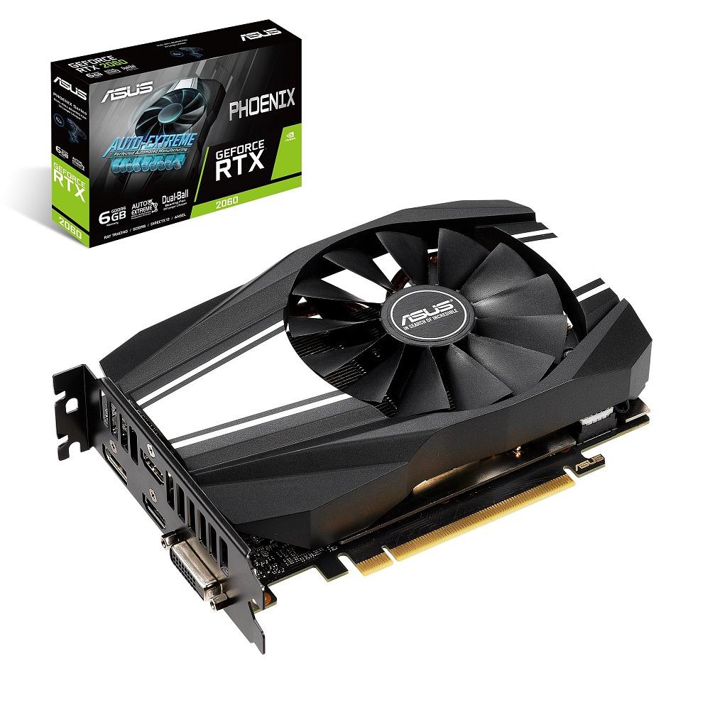 ASUS エイスース グラフィックボード PH-RTX2060-6G [NVIDIA GeForce RTX 2060 / 6GB]
