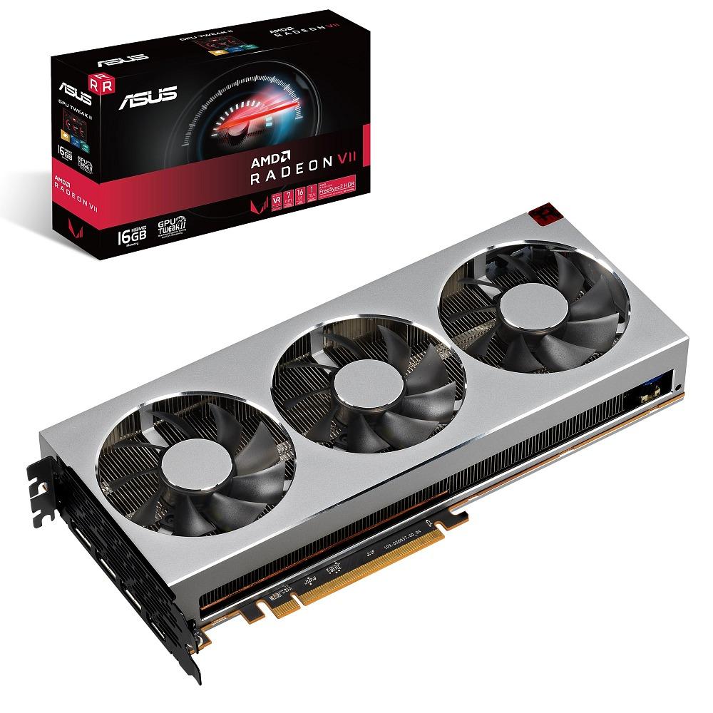 ASUS エイスース グラフィックボード RADEONVII-16G [AMD Radeon VII / 16GB]