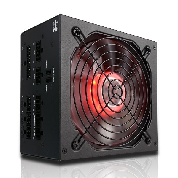 InWin インウィン 80PLUS GOLD認証取得 RGB LED搭載 PC用電源 PB 750W [IW-PB750-RGB]