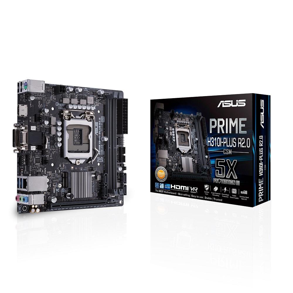 ASUS PRIME H310I-PLUS R2.0/CSM エイスース マザーボード [LGA1151 H310]